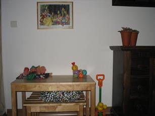 Frankrijk huis speelhoekje